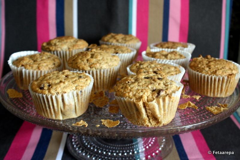 Bran muffins3